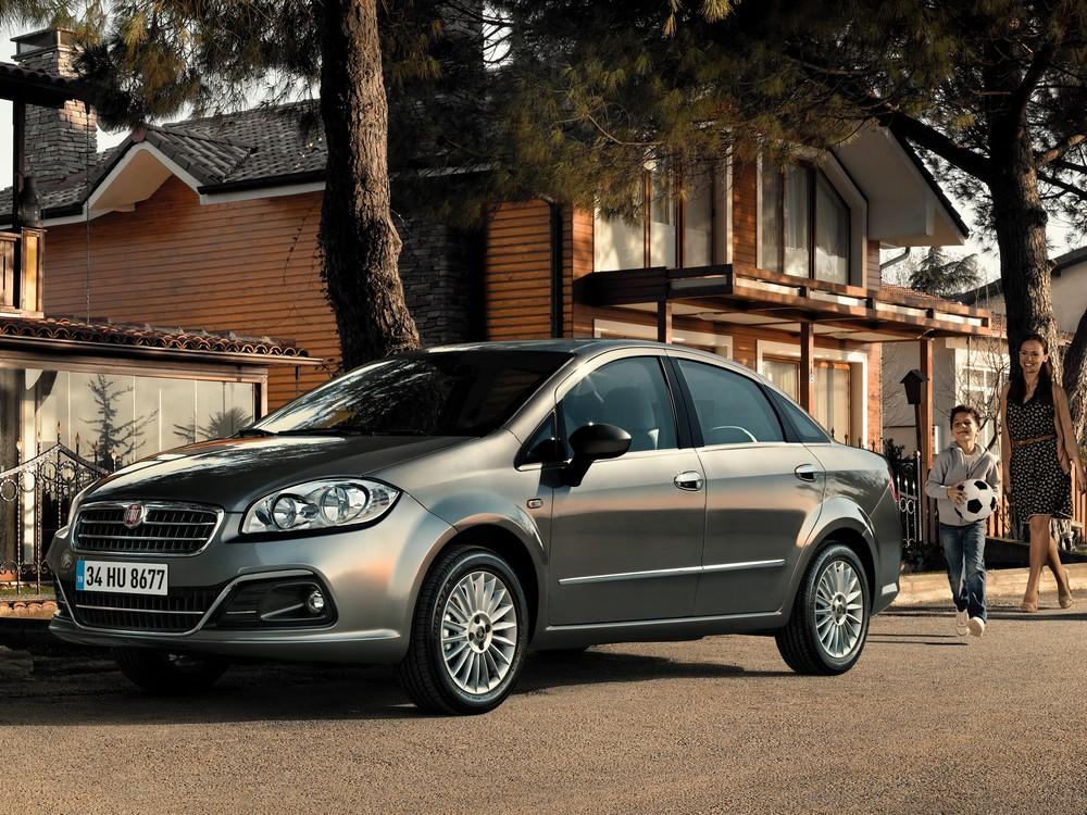 FIAT Linea 2013 — экстерьер, фото 1