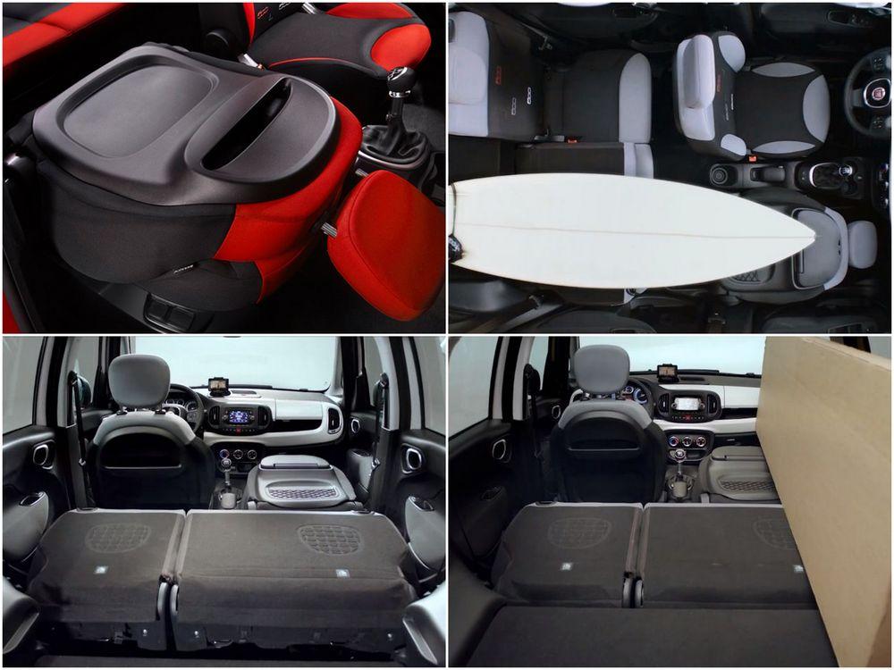FIAT 000L — интерьер, овидиевы превращения салона, фотоколлаж